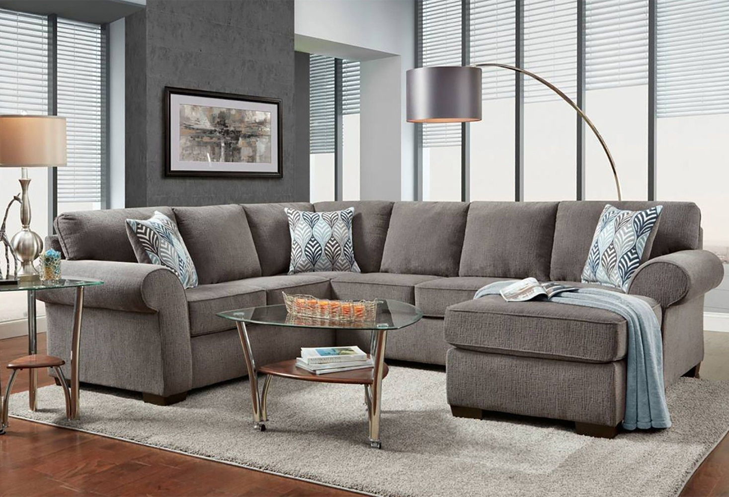 Stillman 107_5_ Left Hand Facing Sectional